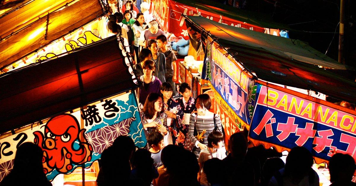 想攻略日本夜市?先放下你對美味的不實期待!!