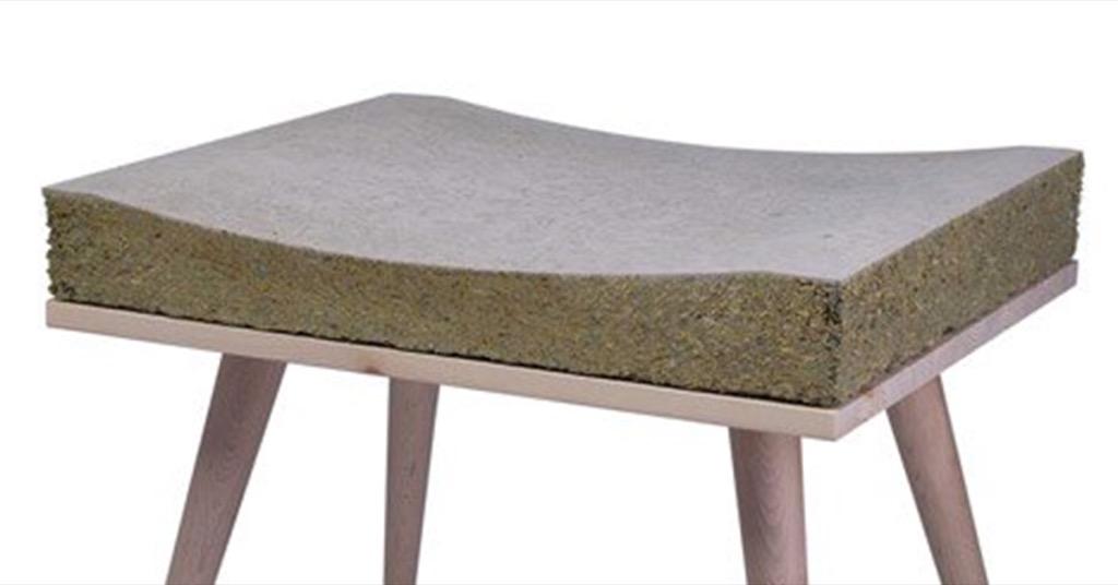 設計居家:回收草料再製椅子