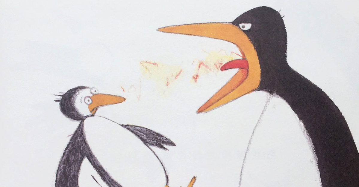 繪本介紹:大吼大叫的企鵝媽媽