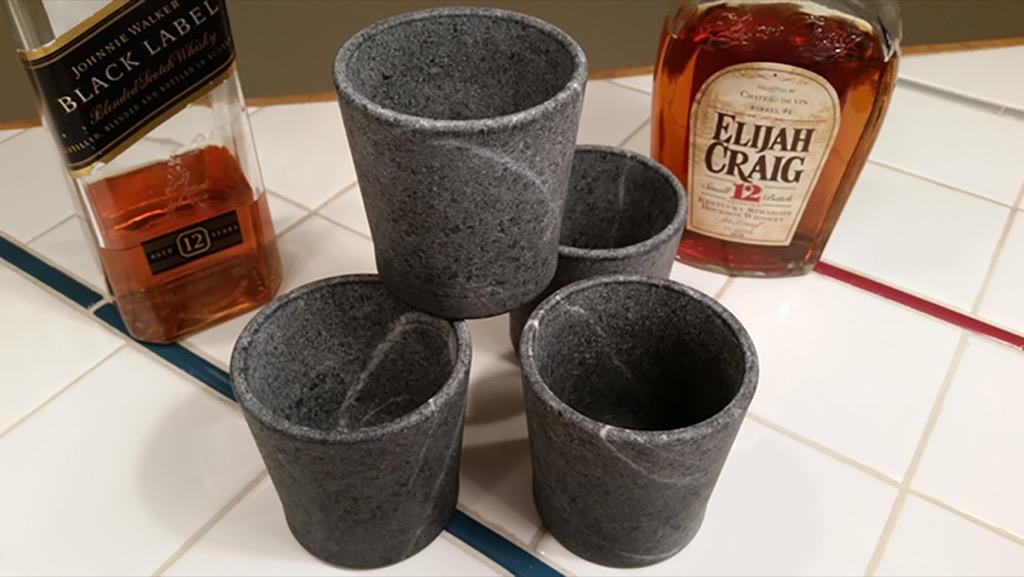 設計居家:皂石威士忌酒杯