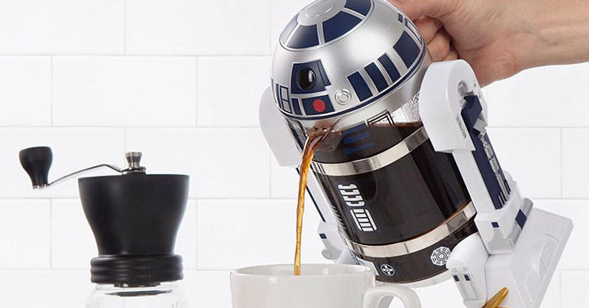 設計居家:就是要星際大戰!雖然沒什麼特別用途,但就是讓人想買的 R2-D2 咖啡壺與黑武士牙籤機