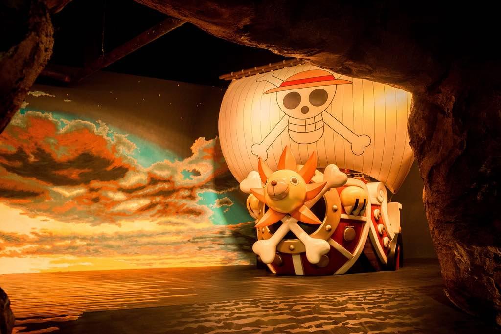 海賊迷通通上船吧~東京鐵塔一比一完全擬真的千陽號,讓人想直接住下了!