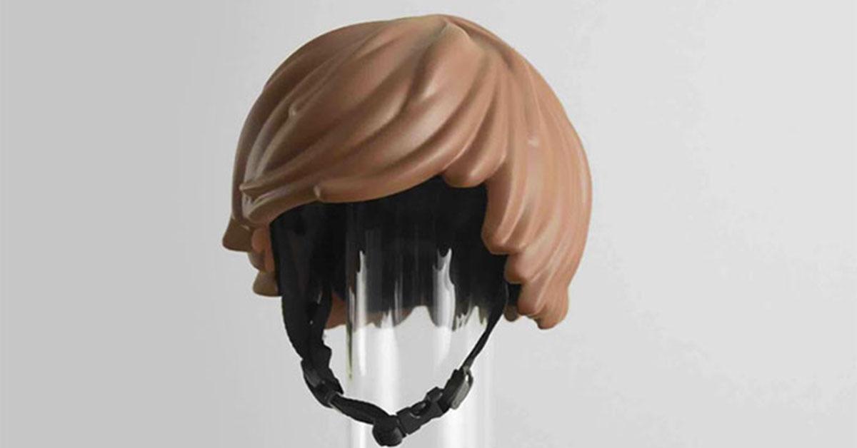 超有趣的 3D 列印丹麥自行車安全帽,讓你戴上它秒 Cos 樂高人!