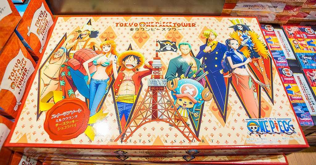 沒有最想買只有更想買,東京鐵塔海賊王專賣店絕對要慎入(東京鐵塔海賊王展)