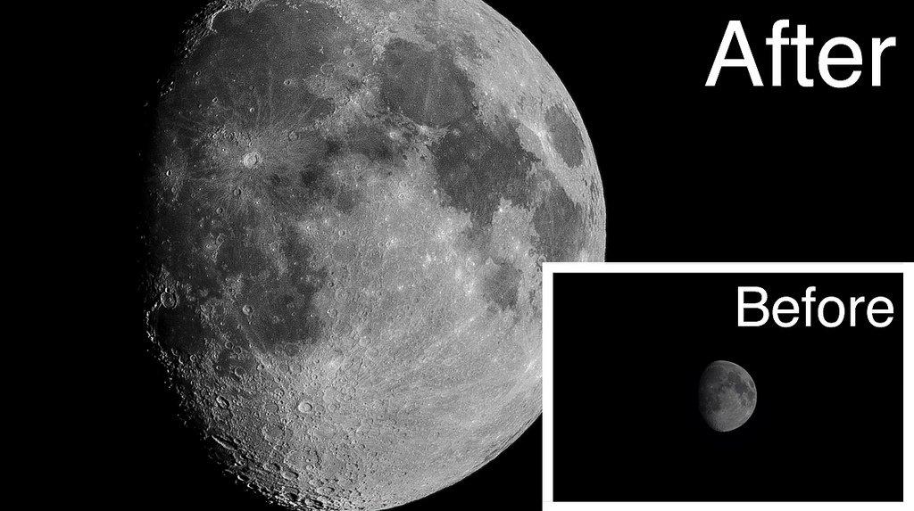 拍完超級月亮之後要怎麼做?稍微處理一下,讓你的月亮更完美!