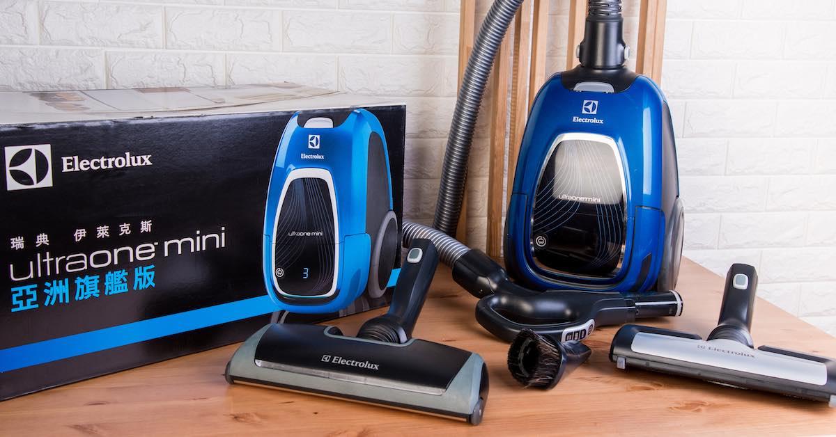 Electrolux UltraOne mini 藍寶精靈評測:好吸、好靜、好乾淨~