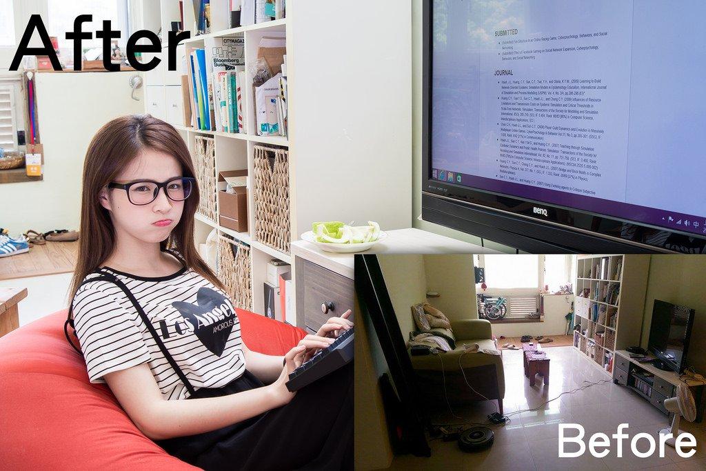 業配文照片這樣拍(二):可愛小正妹柯柯與超迷你的 MSi Cubi 小電腦