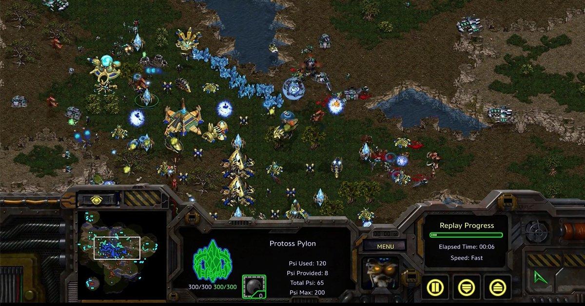 經典王者回歸!Blizzard 推出星海爭霸 StarCraft 一代重製版,畫質直上 4K 超高解析~