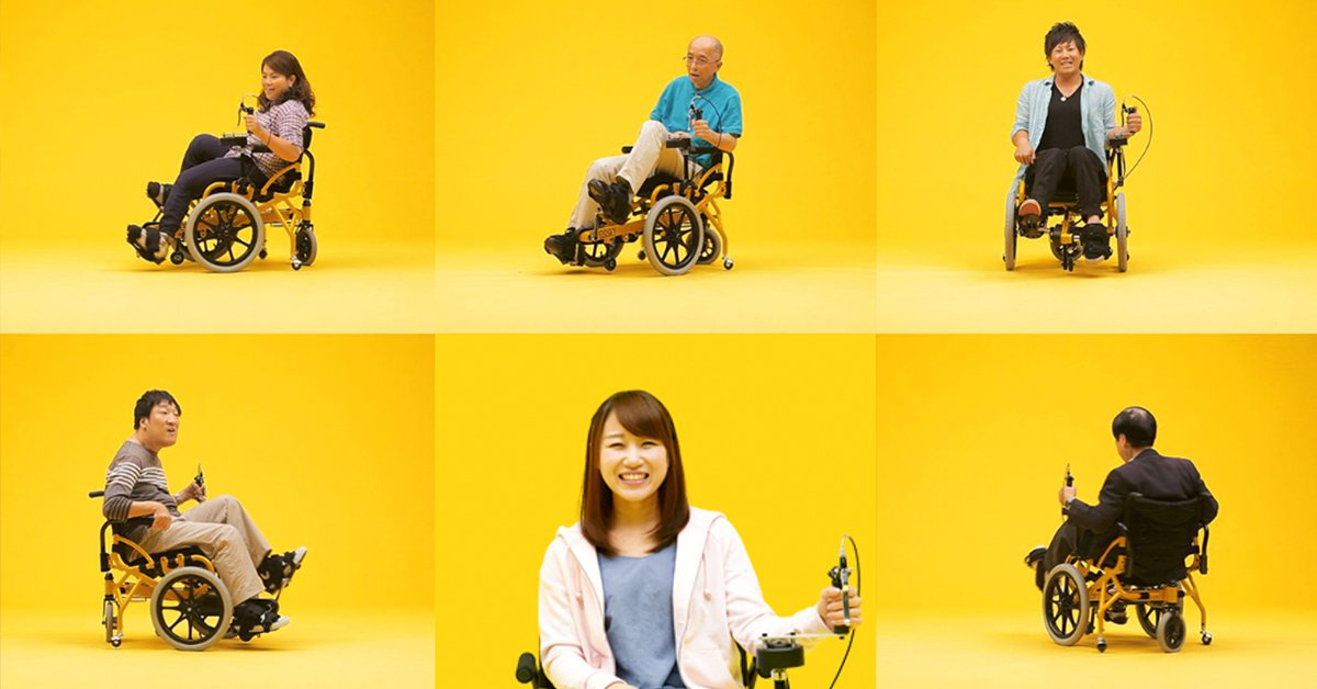 創造幸福的新式輪椅,給半身癱瘓者運動雙腳的勇氣!