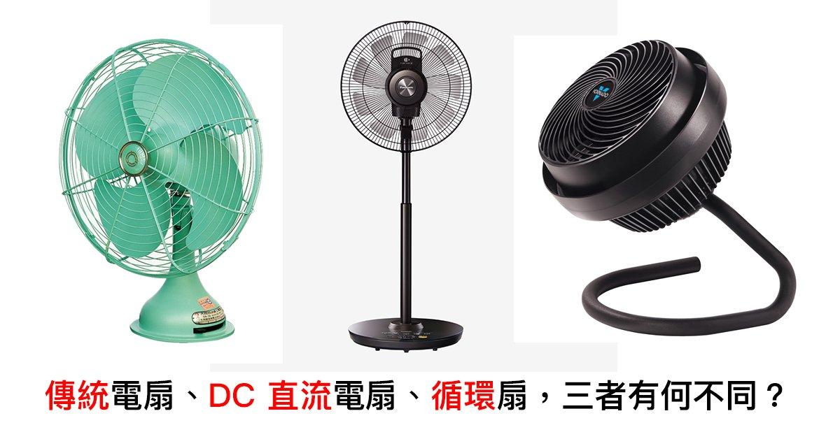 季節家電選購指南(二):「電風扇」類型百百種,但我們該如何選購?(上)