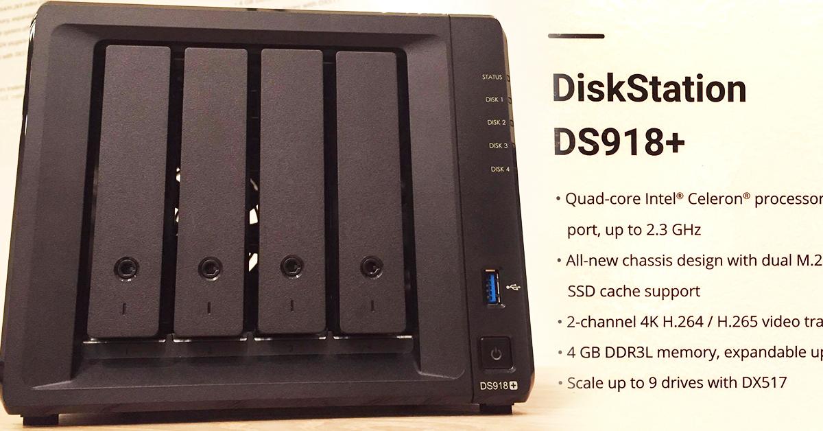 新朋友 Synology DS918+ 登場!跟 DS916+ 又有哪些不同呢?