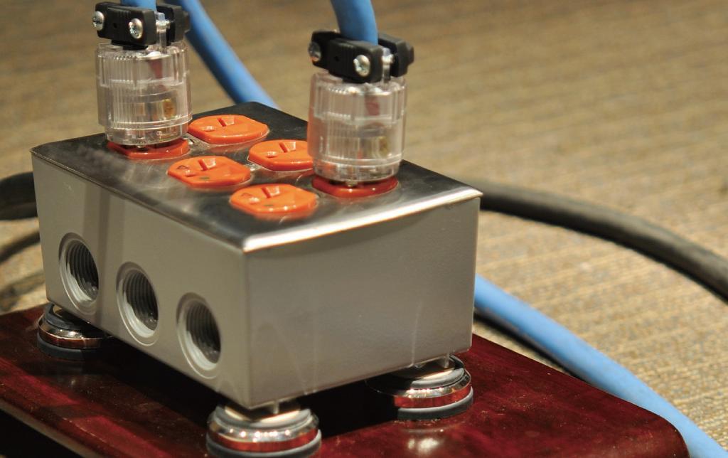 音響系統最根本也最直接的音質提升方案:電源專線