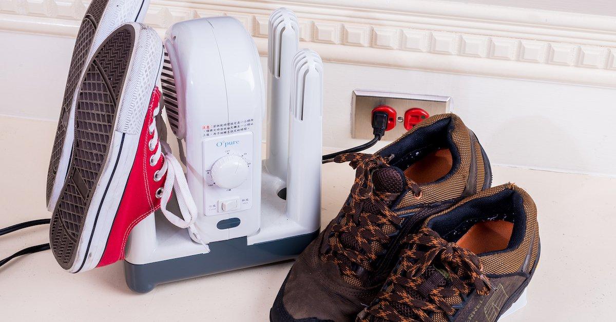 跟香港腳說掰掰~讓鞋子每天都乾燥舒適的 Opure B1 烘鞋乾燥機