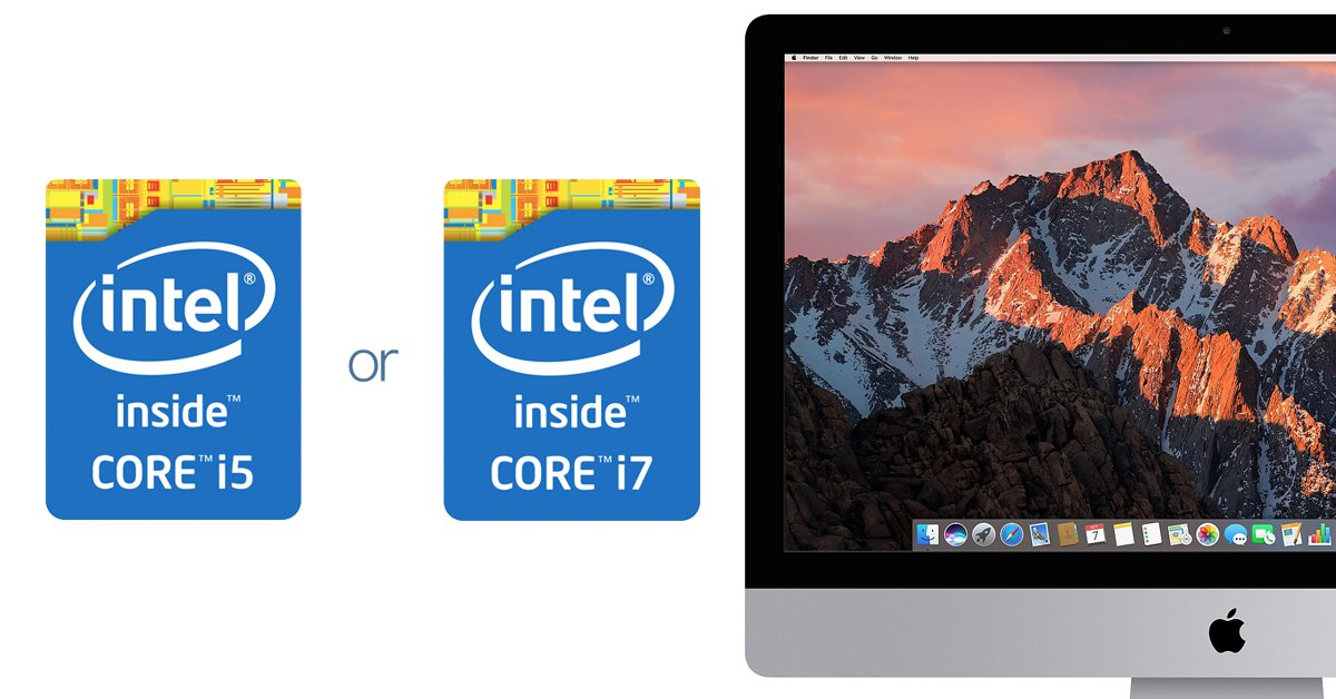 Mac 選購指南(三)CPU 是幹嘛用的?我該花六千多將「i5」變成「i7」嗎?
