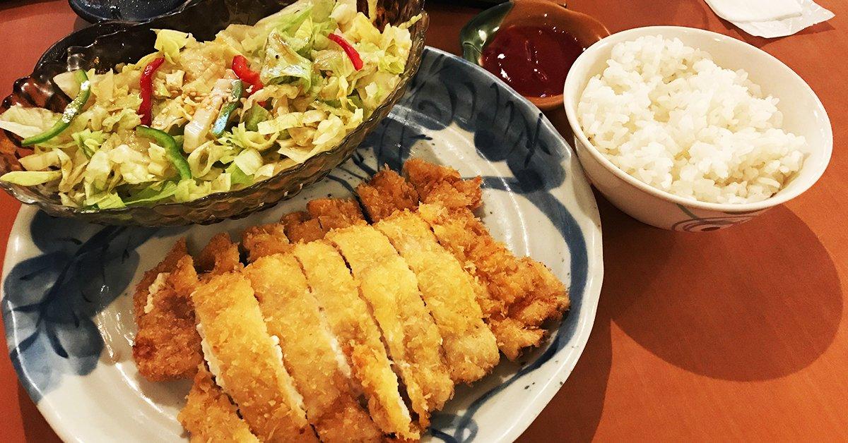 不可思議的大份量!!台北捷運中山站旁邊的「不二家日式料理」