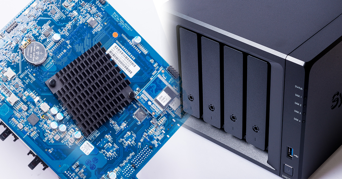 Synology DS918+ NAS 開箱評測(完全拆解篇):內建雙 M.2 NVMe SSD 快取插槽