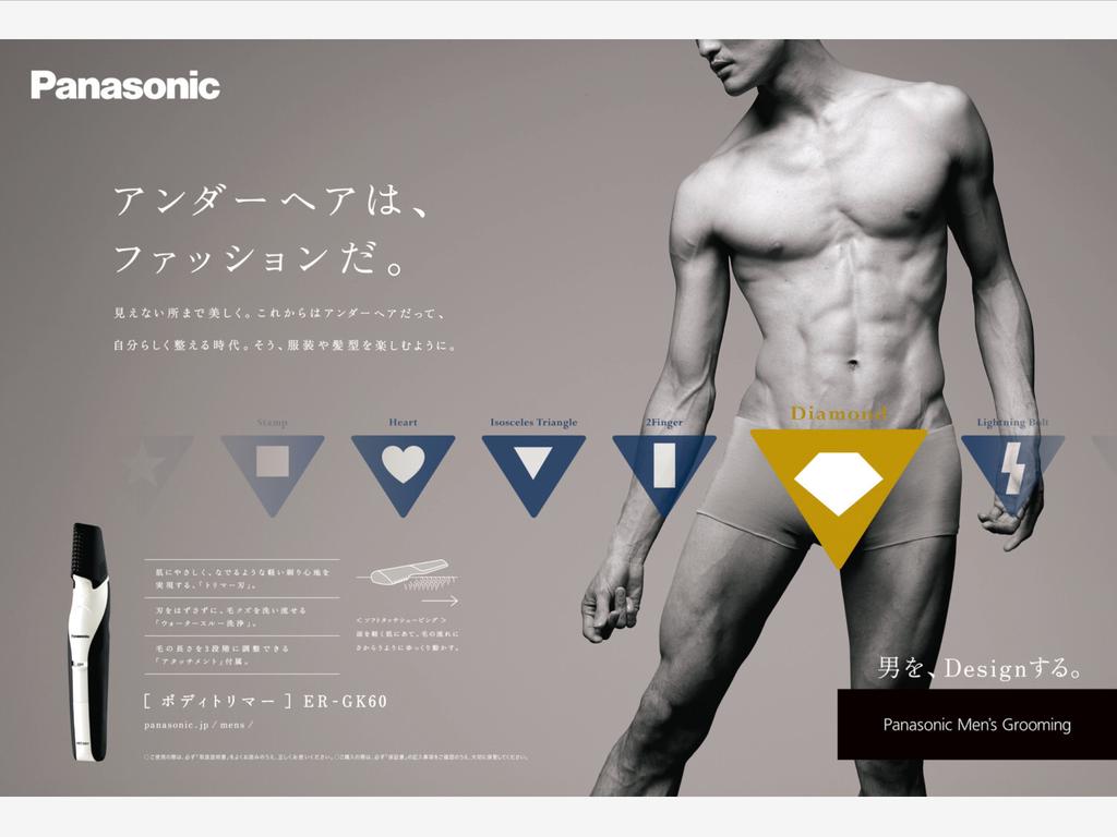 閃電還是鑽石?Panasonic 推出私密處美容家電 意外受市場歡迎