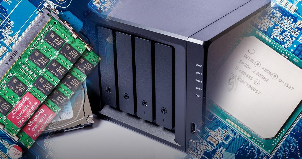 NAS 網路磁碟機規格怎麼看?槽數 Bay、CPU、記憶體帶你一次看懂