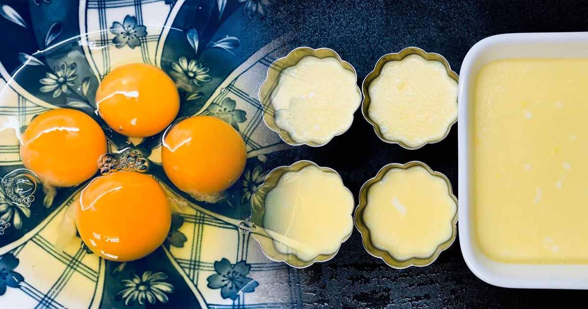 超級無敵嫩雞蛋布丁食譜&作法詳解(85度低溫懶人法)