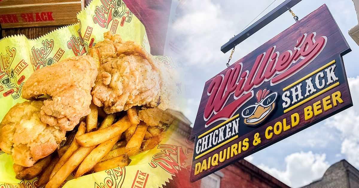 紐奧良之旅 – 美味炸雞連鎖店 Willie's,炸雞配雞尾酒冰沙超消暑~