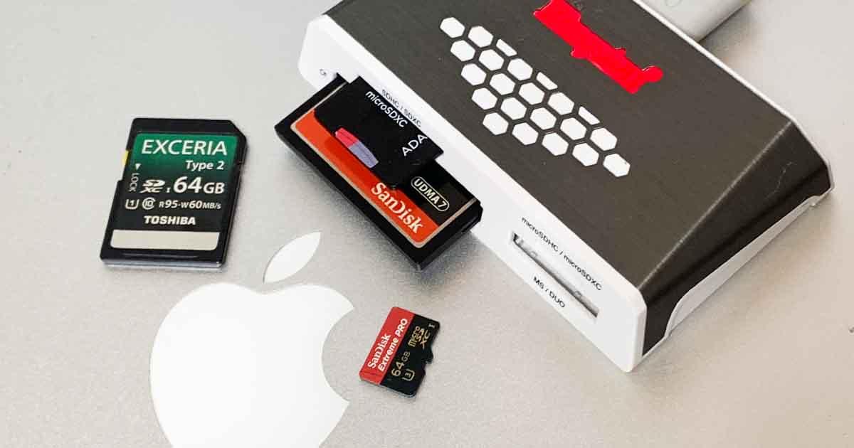 蘋果電腦格式化的記憶卡讀不到?用終端機搞定 MBR 主開機記錄問題