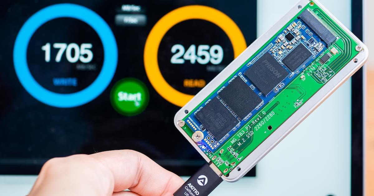 TEKQ ThunderBolt 3 SSD 外接盒評測:自決容量的 2400MB/s 高速硬碟