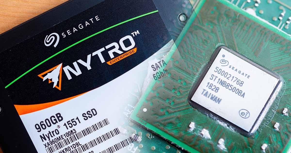 Seagate Nytro 1551 企業級 SSD 固態硬碟評測:SandForce 重出江湖精彩可期?
