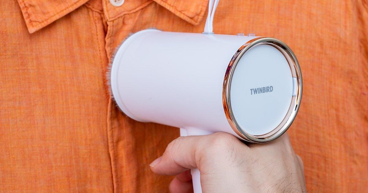 Twinbird 美型掛燙機 TB-G006TWW 評測:漂亮、便宜、超好用